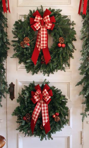 Door Mounted Wreaths